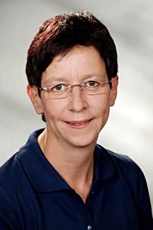 Frau Gabi Ewering, Arzthelferin